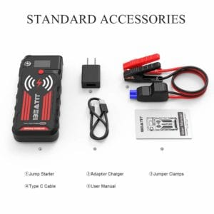 most powerful mini jump starter