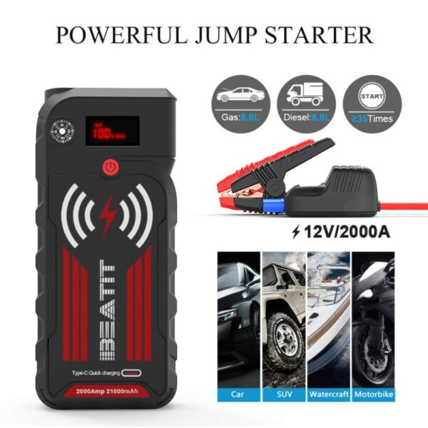 The Best Lithium ion Jump Starters 2019