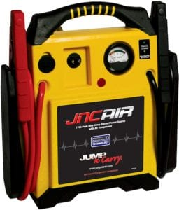 JNCAIR 1700 Peak Amp Jump Starter with Air Compressor