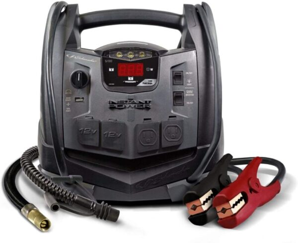 Schumacher SJ1332 jump starter with air compressor